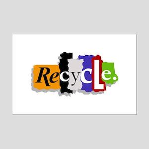 Recycle Mini Poster Print