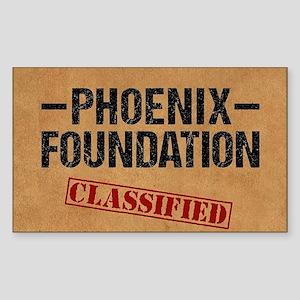 Classified Phoenix Foundation Sticker
