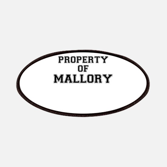 Property of MALLORY Patch