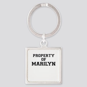 Property of MARILYN Keychains