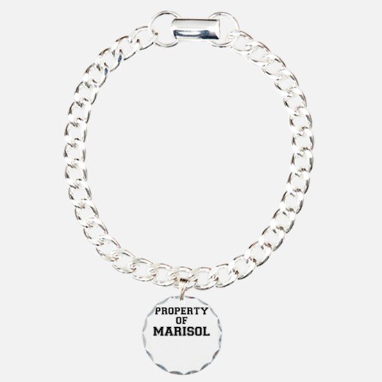 Property of MARISOL Charm Bracelet, One Charm