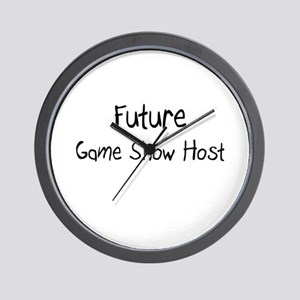 Future Game Show Host Wall Clock