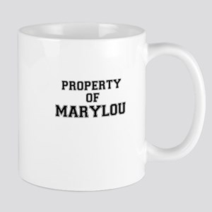 Property of MARYLOU Mugs