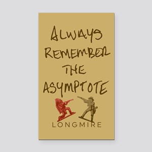 Henry Remember The Asymptote Rectangle Car Magnet