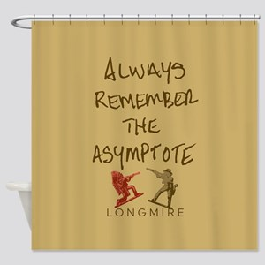 Henry Remember The Asymptote Shower Curtain