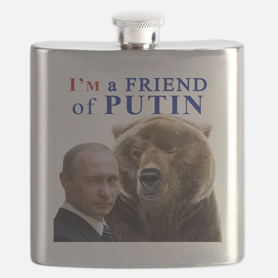Funny Animals and wildlife Flask