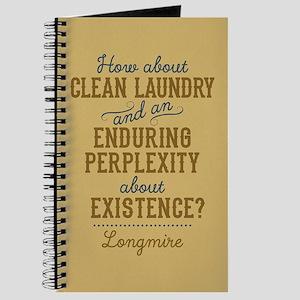 Longmire Clean Laundry Journal