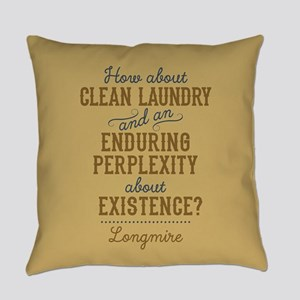 Longmire Clean Laundry Everyday Pillow