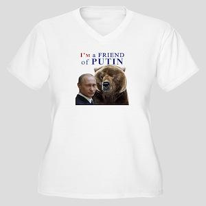 I'm a frieand of Putin Plus Size T-Shirt