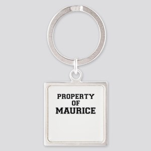 Property of MAURICE Keychains