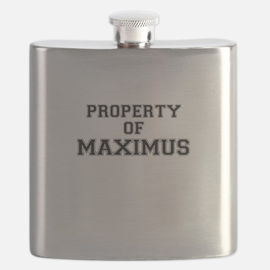 Property of MAXIMUS Flask