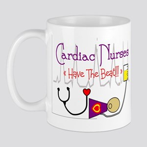 Cardiac Nurses Have the Beat  PURPLE ACL DUMMY Mug