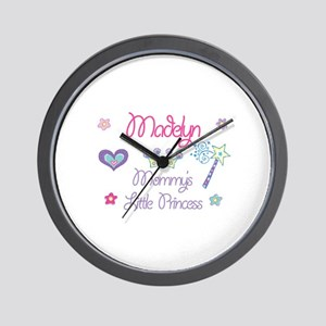 Madelyn - Mommy's Little Prin Wall Clock