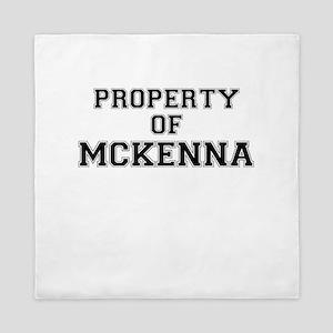 Property of MCKENNA Queen Duvet