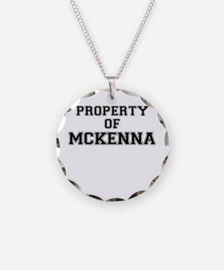 Property of MCKENNA Necklace