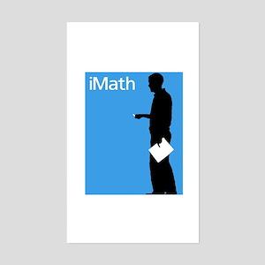 iMath Rectangle Sticker