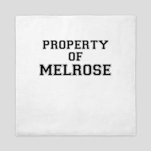 Property of MELROSE Queen Duvet