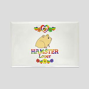 Hamster Lover Rectangle Magnet