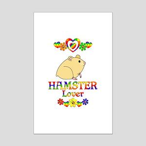 Hamster Lover Mini Poster Print