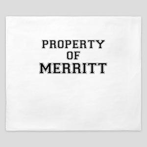 Property of MERRITT King Duvet