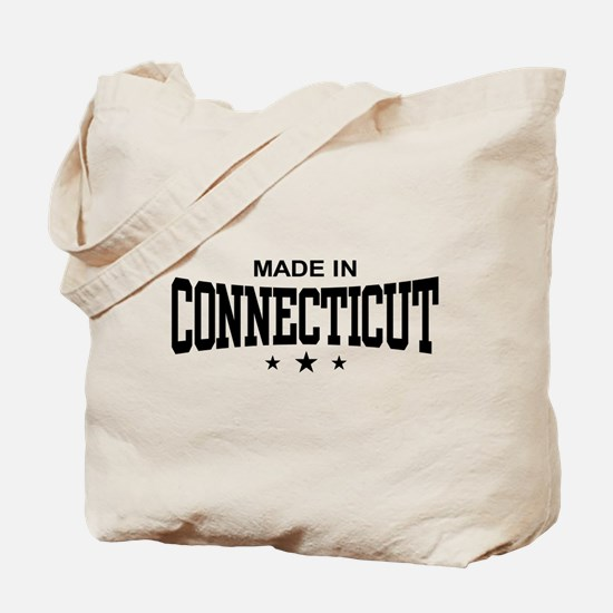 Made in Connecticut Tote Bag