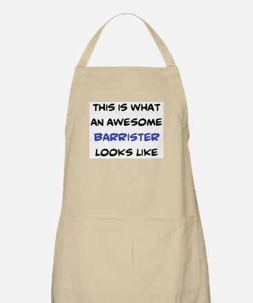 awesome barrister Apron