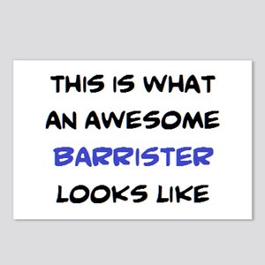 awesome barrister Postcards (Package of 8)