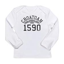 Croatoan 1590 Long Sleeve Infant T-Shirt