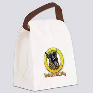 Belgian Malinois Security Canvas Lunch Bag