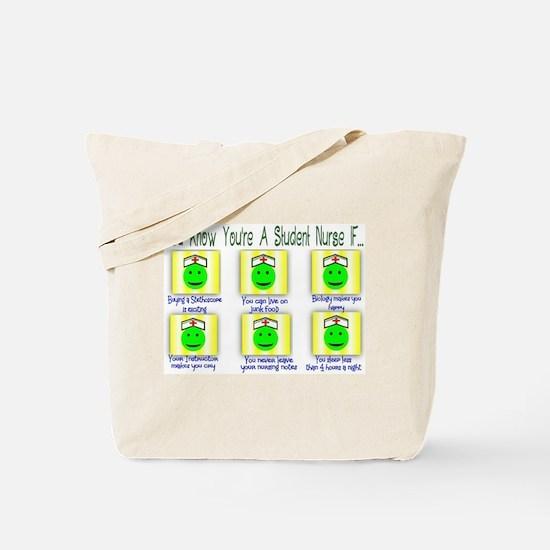 Cute Nursing student Tote Bag