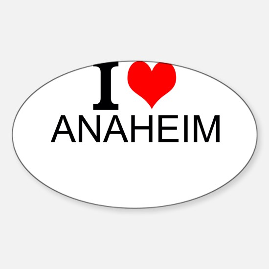 I Love Anaheim Decal