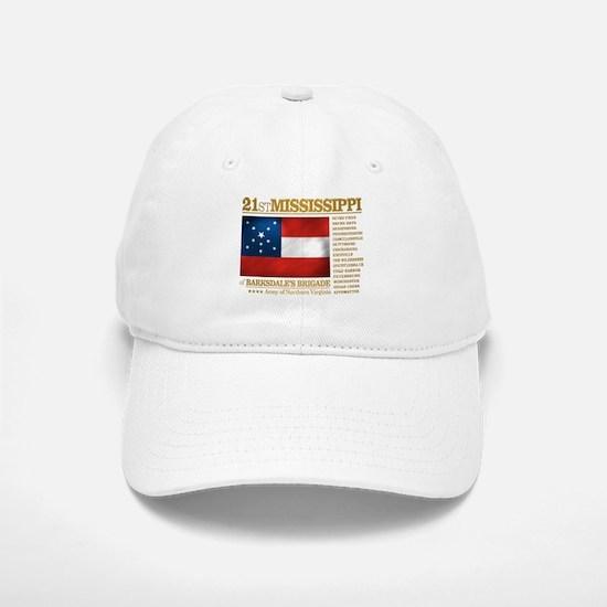 21st Mississippi Infantry Baseball Baseball Baseball Cap