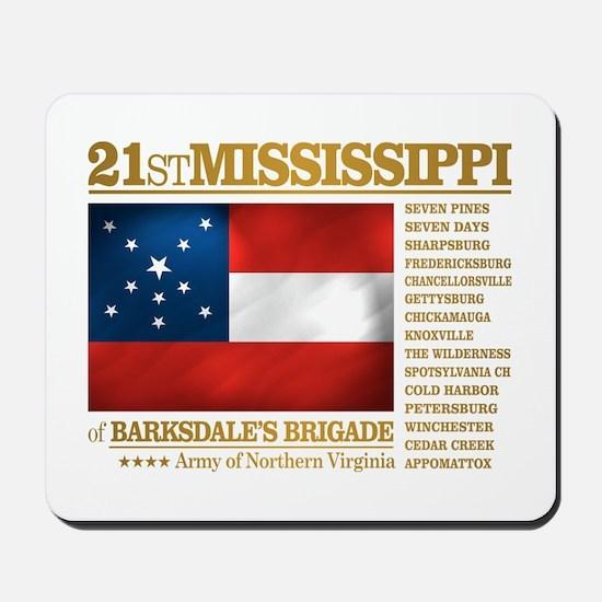 21st Mississippi Infantry Mousepad