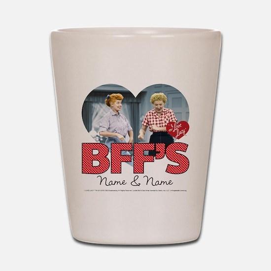 BFFs Personalized Shot Glass