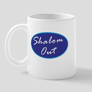Shalom Out Mug