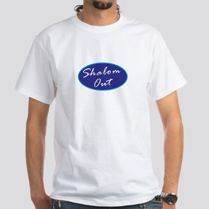 Shalom Out White T-Shirt