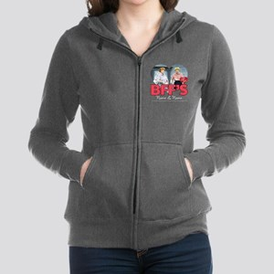 BFFs Personalized Women's Zip Hoodie