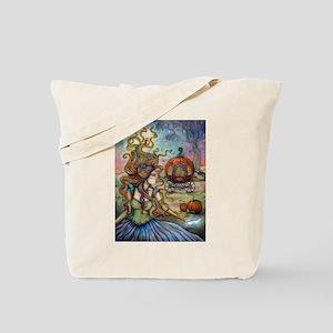 Cinderella Fantasy Art by Molly Harrison Tote Bag