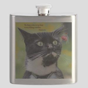 Halloween Kitty Flask