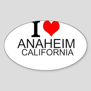I Love Anaheim, California Sticker
