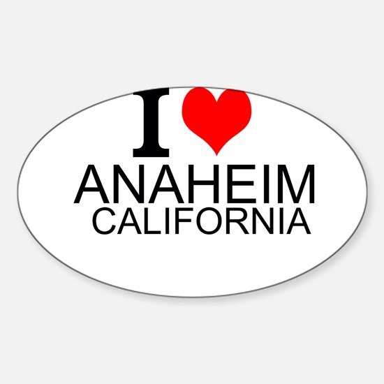 I Love Anaheim, California Decal