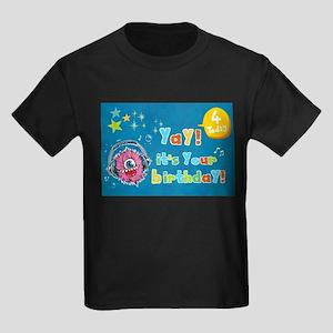 Yay Birthday Monster Jam T-Shirt