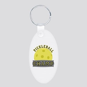 Pickleball Champ Keychains