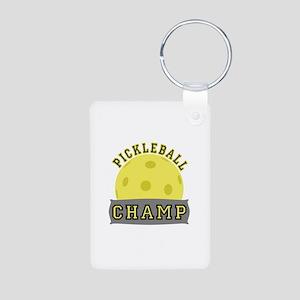 Pickleball Champ Keychains