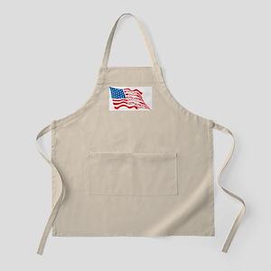 Democrat Patriot Flag Light Apron