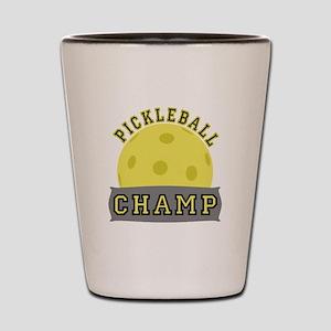 Pickleball Champ Shot Glass