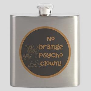 Anti Trump, no orange psycho clown! Flask