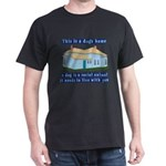 Dog's Home Dark T-Shirt
