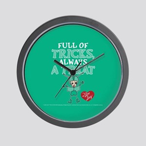 I Love Lucy: Trick or Treat Wall Clock
