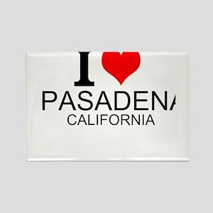 I Love Pasadena, California Magnets